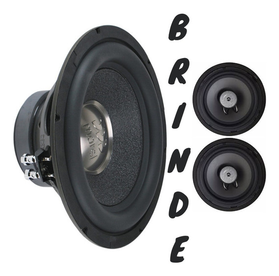 Subwoofer Morel Primo 12 350 Wrms + Brinde Audiophonic Coax