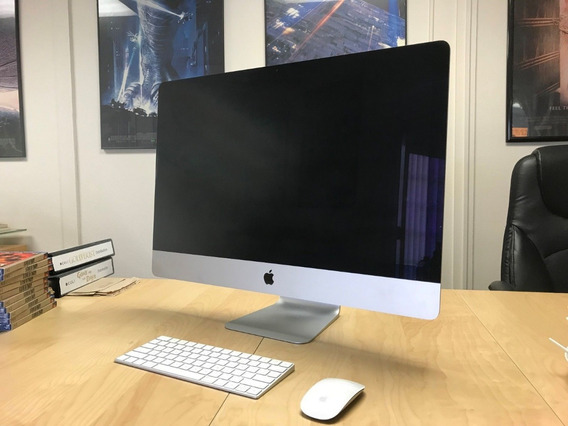 iMac 27 5k Late 2014 4ghz 32gb Ram 4gb Video 3tb Sshd!!!