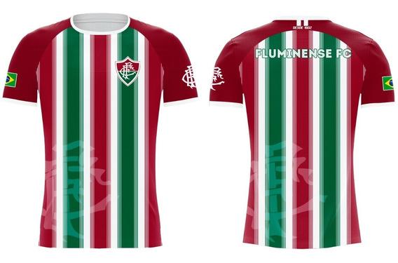 Camiseta Fluminense Tricolor