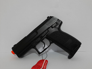 Pistola Airsoft Usp Compact Gbb Blowback Full Auto 6mm