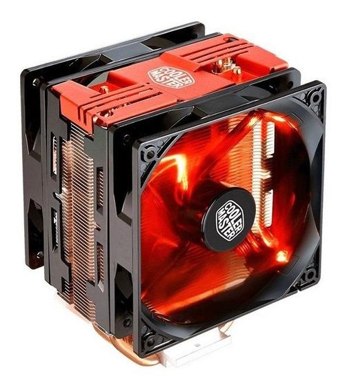 Cooler Hyper 212 Turbo Led Vermelho P/ Cpu Amd Ryzen Am4