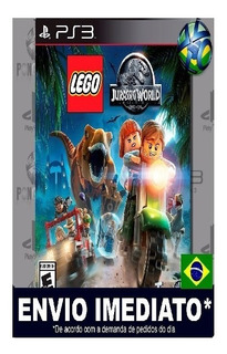 Jogo Play3 Infatil Lego Jurassic World Ps3 Mídia Digital