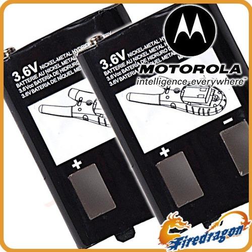 2x1 Pack Batería Motorola Nimh Para Radios Sx700 700r Sx710