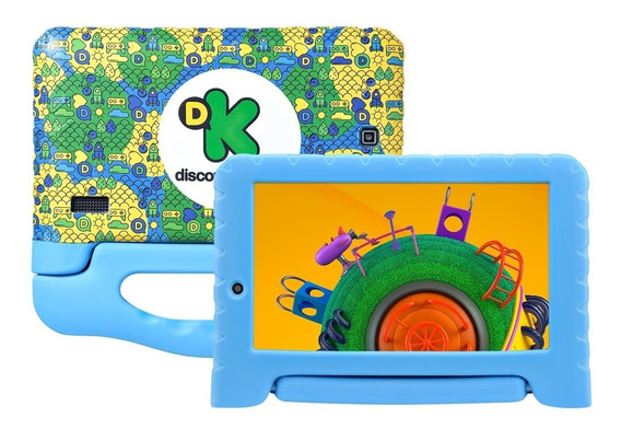 Tablet Infantil Discovery Kids 7 Wi-fi Bluetooth 8gb Nb290