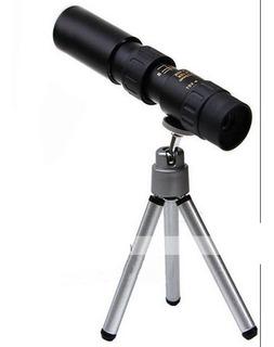Monocular 10-30x25 Compacto Definicion Alcance Zoom Aumento
