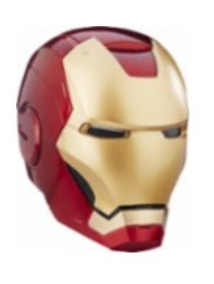 Mascara Iron Man Hasbro Legends Top 1:1