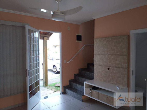 Casa Com 2 Dormitórios Para Alugar, 69 M² - Villa Flora Hortolandia - Hortolândia/sp - Ca2223