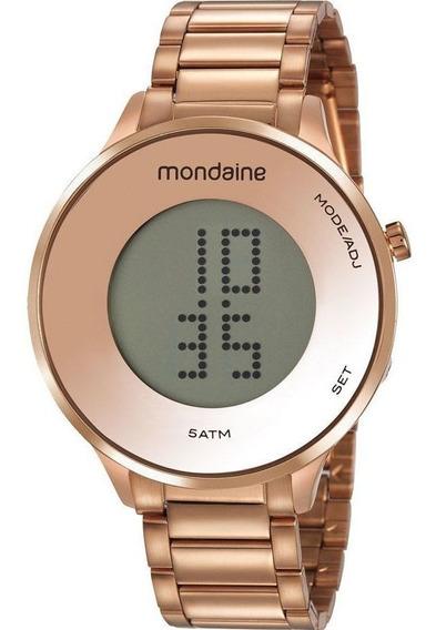 Relógio Mondaine Feminino Digital 53786lpmvre2 Rosé