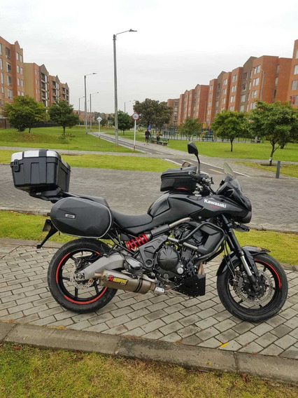Kawasaky Versys 650 Abs 2014 Moto Full Equipo