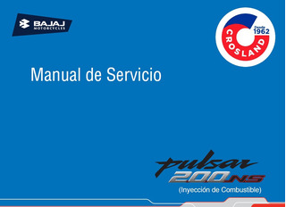 Manual Taller Y Servicio Bajaj Rouser Ns 200 A Inyección