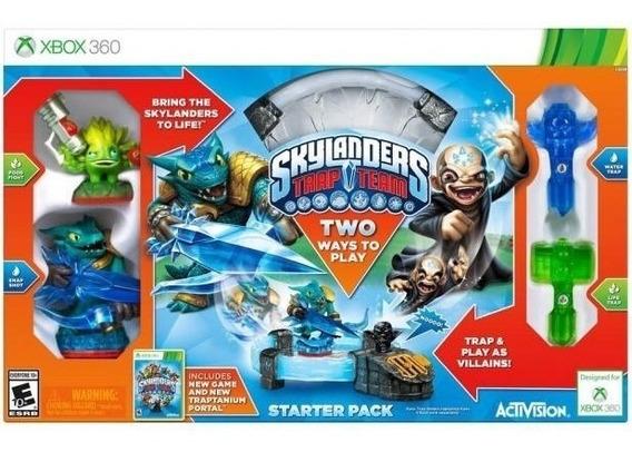 Skylanders Trap Team 6 Bonecos + Portal + Game - Xbox360