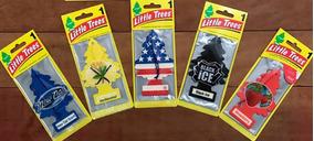 Cheirinho P/ Carro Little Trees - 5 Unidades - Frete Grátis
