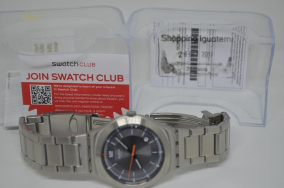 Swatch Flattering Grey Dial Men