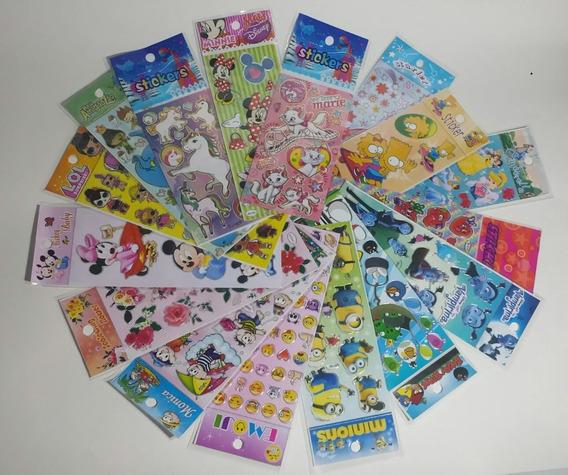 Adesivos Infantis Kit Mundo Da Alegria Com 100 Cartelas
