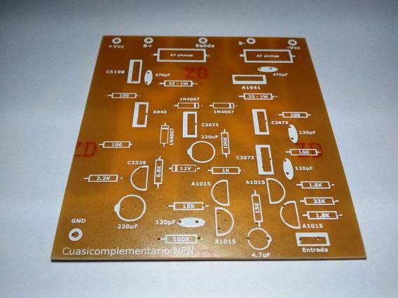 Plaqueta Circuito Impreso Amplificador Expandible A 1500w