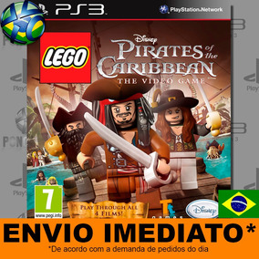 Ps3 Lego Piratas Do Caribe - Envio Já - Midia Digital