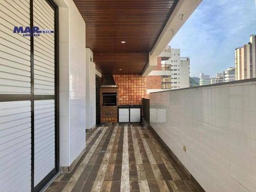 Imagem 1 de 17 de Apartamento Residencial À Venda, Vila Alzira, Guarujá - . - Ap10135