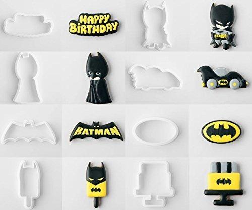 American Confections Batman Cookie Cutter Con Las Plantillas