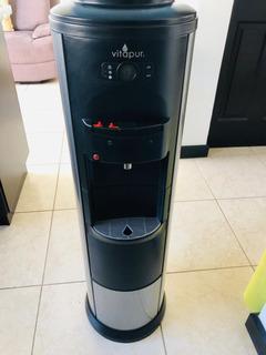 Dispensador De Agua Vitapur, Con Refrigerador De Montaje Med