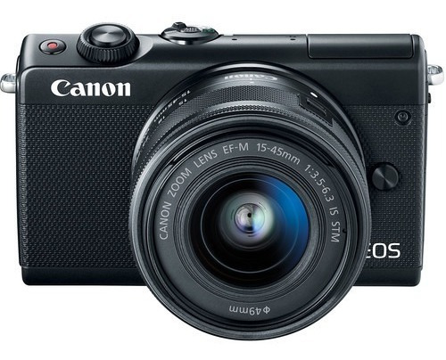 Câmera Canon Mirrorless Eos M100 + 15-45mm Is Stm Novo