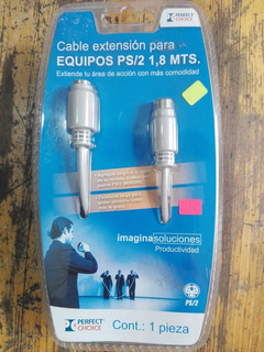 Cable Extension Para Equipos Ps/2 1.8mts (perfect Choice)
