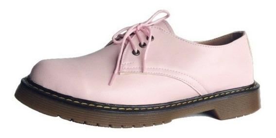 Zapatos Dama Zapatos Mujer Zapatos Rosas (estilo Dr Martens)
