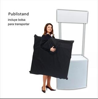 Stand Publicitario Con Impresión A 1400dpis Incluye Bolso
