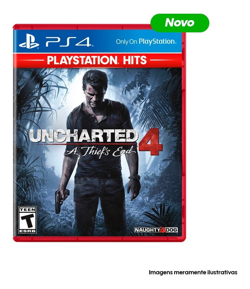 Game Ps4 Uncharted 4 A Thief
