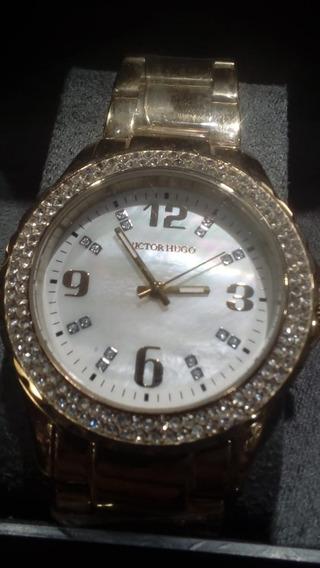 Relógio Feminino Victor Hugo Vh10011
