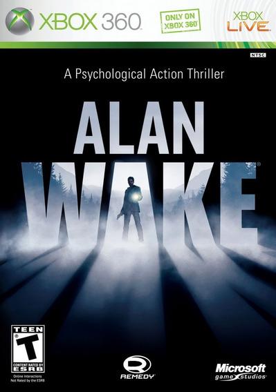 Alan Wake Para Xbox 360 Compatível Com Xbox One