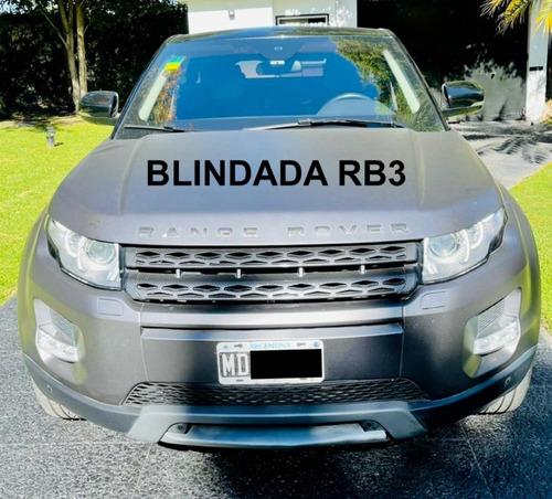 Range Rover Evoque Blindado Rb3 X Armoring Con Vidrios Agp