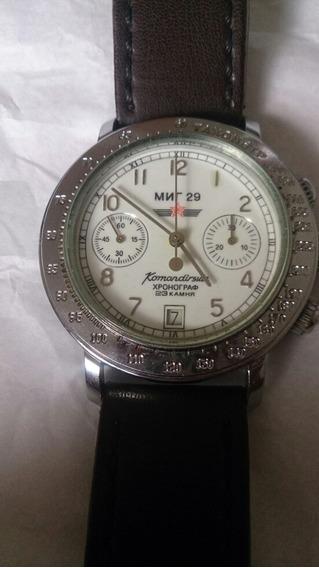 Relógio Russo Cronógrafo A Corda