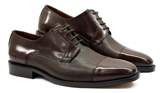 Zapato Vestir Cuero Hombre Giorgio Beneti14002 Calzados Susy