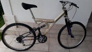Bicicleta Mountainbike 18 Cambios Rodado 26 Poco Uso
