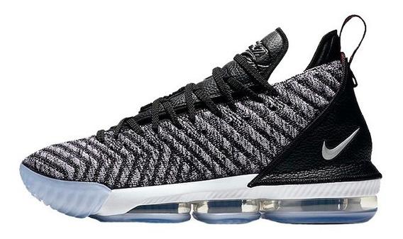 Tenis Nike Lebron 16 Oreo Originales Nuevos N Caja James Xvi