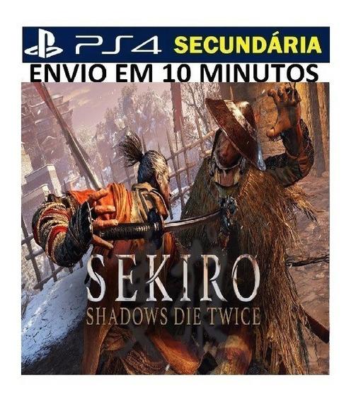Sekiro Ps4 Shadows Die Twice Original 2 Secundária Português