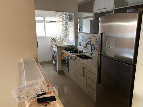 Imagem 1 de 16 de Apartamento Com 2 Dormitórios Para Alugar, 67 M² Por R$ 3.800,00/mês - Perdizes - São Paulo/sp - Ap1194