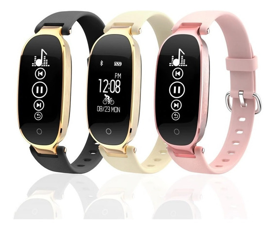 Reloj Smart Watch Pulsera Inteligente Dama Ritmo Cardiaco