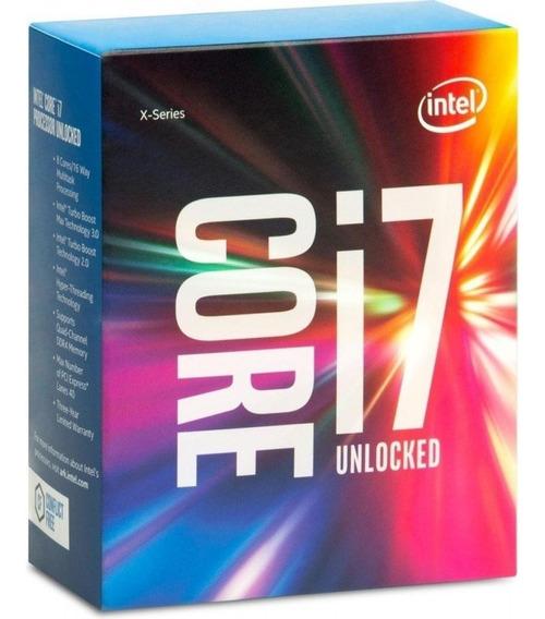 Processador Intel I7-6850k 3.6ghz Lga 2011 15mb S/cooler