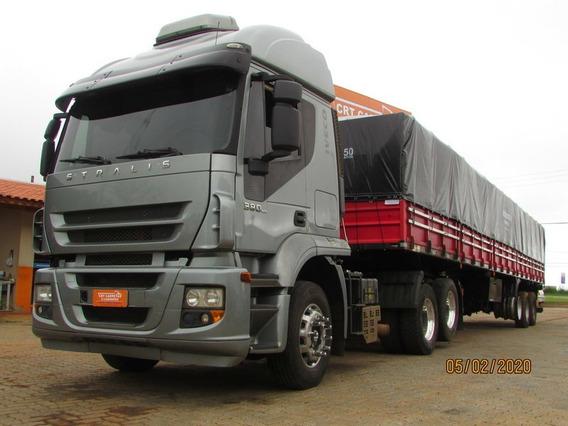 Iveco Stralis 380 6x2 Carreta Graneleiro 13,50m