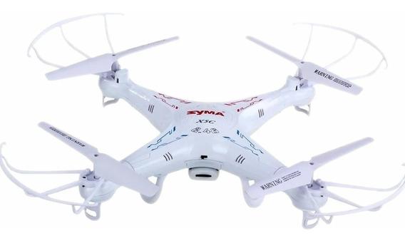 Drone Syma X5c Com Camera Hd, 6 Axis, 2,4ghz 4 Baterias