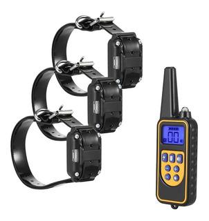 880 Eléctrico Perro Entrenamiento Collar Pet Control Remoto