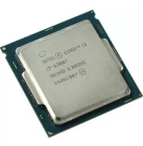 Processador gamer Intel Core i3-6300T BX80662I36300T de 2 núcleos e 3.3GHz de frequência com gráfica integrada