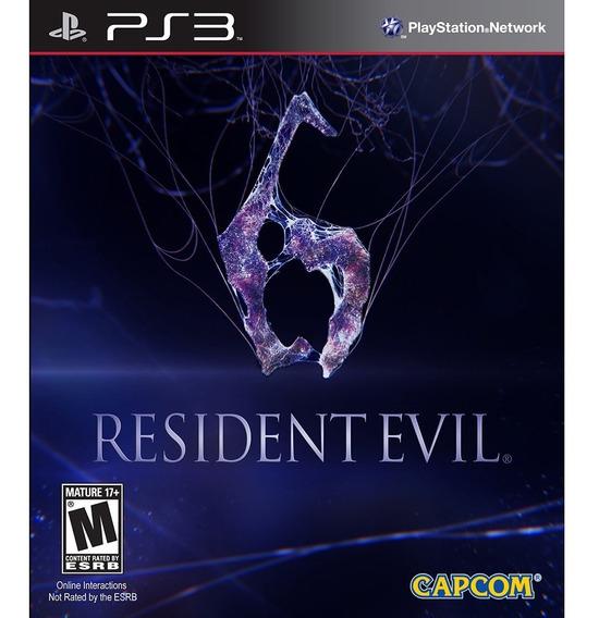 Game - Resident Evil 6 - Ps3