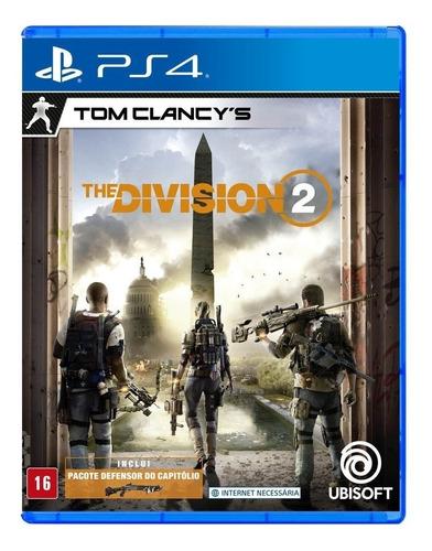 Imagen 1 de 5 de Tom Clancy's The Division 2 Standard Edition Ubisoft PS4 Físico