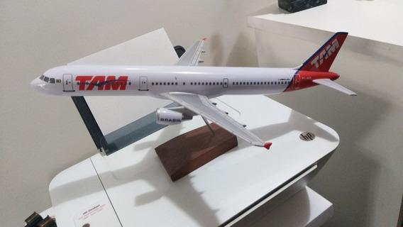 Maquete A321 Da Tam Linhas Aéreas