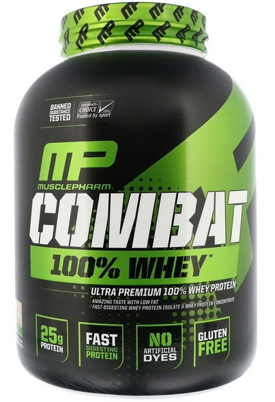 Proteína Musclepharm Combat 100% Whey 5 Lbs