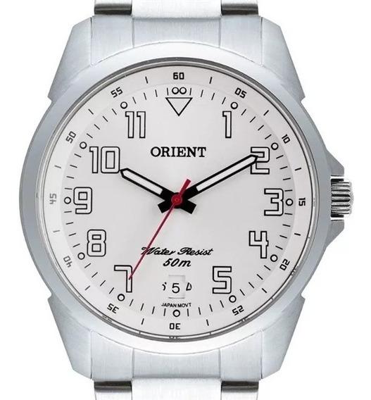 Relógio Orient Masculino Prata - Mbss1154a S2sx