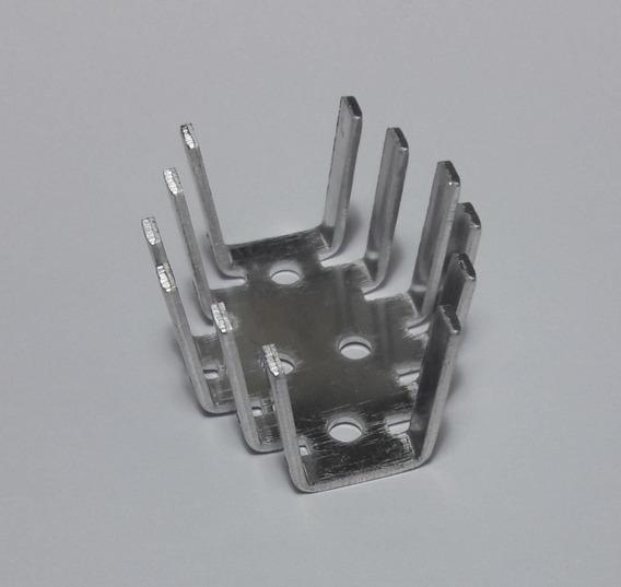 Dissipador To-3 Alumínio 45 X 35 X 25 Mm - Frete $15
