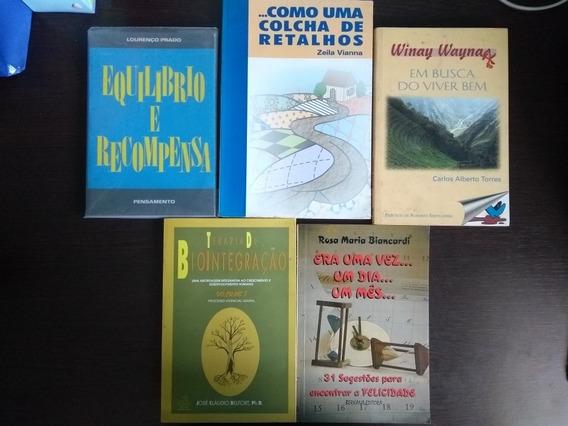 Kit Com 5 Livros De Auto-ajuda